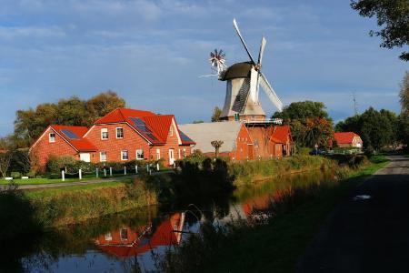 Ostfriesland ist eine beliegte Ferienregion...
