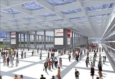 Warsteiner Welcome Center als Bestandteil ring°boulevard