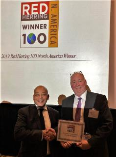 OncoBeta® chosen as a 2019 Red Herring North America Top 100 Winner