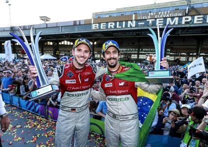Platz 1 und 2 für Daniel Abt und Lucas di Grassi / Bildquelle: Audi AG