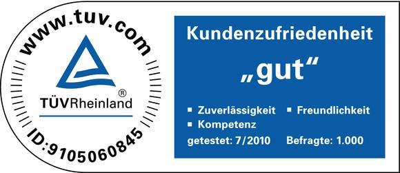 """TÜV Rheinland bewertet Unitymedia-Kundenzufriedenheit mit der Note """"gut"""""""