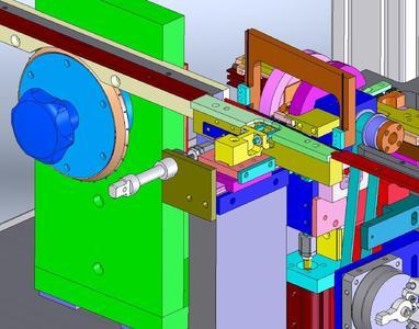 Die 3D-CAD-Software SolidWorks wird für die Konstruktion von Montage-Vorrichtungen, -Arbeitsplätzen und -Automaten verwendet