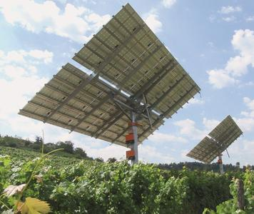 Nachführsystem sonnen_system der Kirchner Solar Group