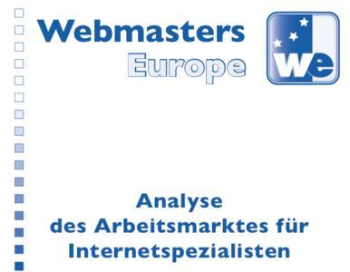 Titelblatt der Arbeitsmarktanalyse 2013