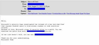 Gefälschter Windows-Patch hat Spam-Bot und Trojaner im Gepäck