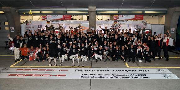 Schaeffler and Porsche win the WEC titles for the third time in succession