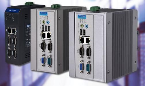 Robuste Hutschienen-PCs der Serie UNO-1000