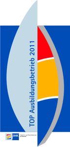 Logo der Auszeichnung Top Ausbildungsbetrieb 2011