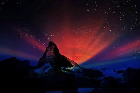 Die Swiss-Domains werden einst für die Schweiz stehen wir die Schweizer Berge