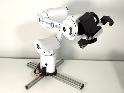 Mover5, 5-achsiger low-cost Roboterarm inkl. Parallelgreifer