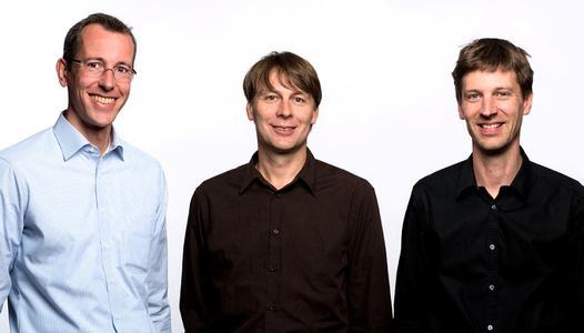 Vorstand der Green City Energy AG Frank Wolf, Thomas Prudlo, Jens Mühlhaus