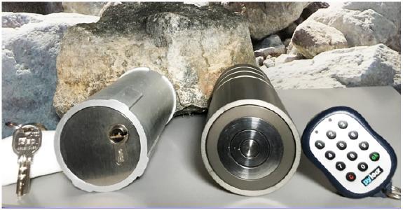 Mehr Sicherheit durch elektronischen Rohrtresor