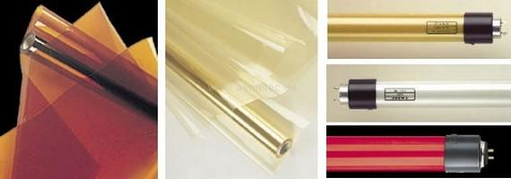 METOLIGHT UV-Filterfolien udn Filterröhren