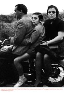 Copyright The Holy family on bike, Roma 1956. William Klein, Outstanding Contribution to Photography Award Winner, Sony World Photography Awards 2012