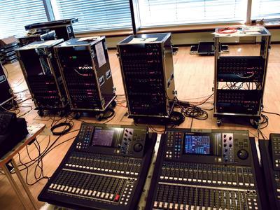ICM installs Riedel Rocknet