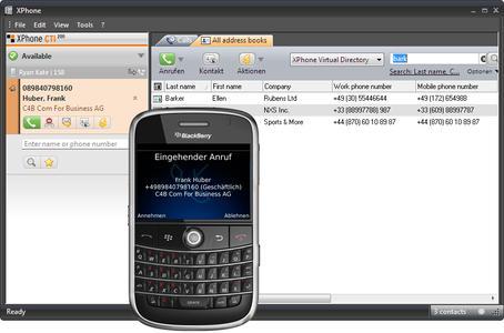Die preisgekrönte Lösung: XPhone Mobile UC integriert Smartphones