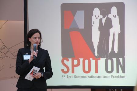 Annette Großer moderierte die Veranstaltung.