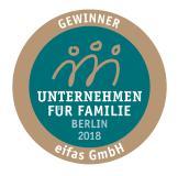 eifas - Unternehmen für Familie 2018