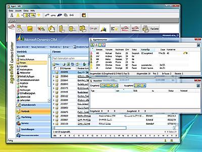 Voxtron agenTel 6.1 mit Microsoft Dynamics CRM Integration bietet automatisierte Prozesssteuerung gemäß ITIL.