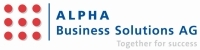 ALPHA Business Solutions AG wird SAP Business ByDesign Solution Reseller