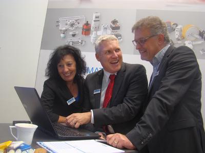 Klara Ansorge, Hansjörg Kistler und Michael Neubauer (v.l.)