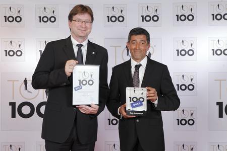 Dr. Volker Kruschinski erhält Auszeichnung TOP 100