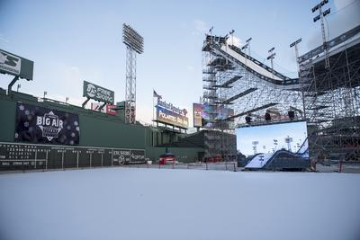 Elation EPT6IP™ LED Displays for Polartec Big Air at Fenway
