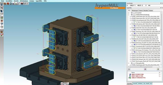 The hyperMILL® ShopViewer ensures greater safety on the machine, Image source: OPEN MIND