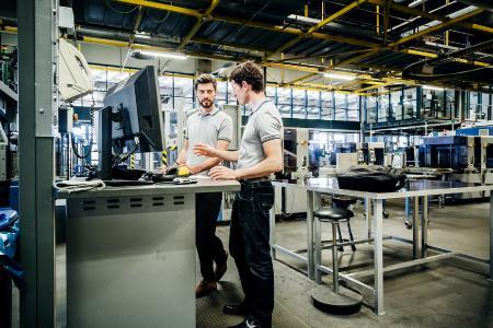 User von PROLAG®World haben jederzeit und überall auf der Welt Zugriff auf das Warehouse-Management-System.