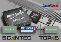 Invensense® expands into Industrial Applications with the World's first Single-Chip, Integrated High-Performance 3-Axis industrial Gyroscope