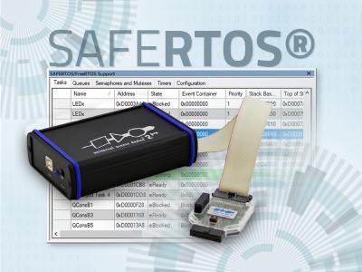 PLS' Universal Debug Engine now also supports SAFERTOS