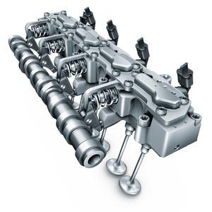 Mit der Serieneinführung des weltweit ersten vollvariablen elektrohydraulischen Ventilsteuerungssystems UniAir hat Schaeffler 2009 Maßstäbe für die Technik umweltfreundlicher und zugleich dynamischer Motorentechnologien gesetzt