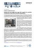 [PDF] Pressrelease: Ionbond UK Ltd installs new large DLC capacity for precision components & automotive decorative applications