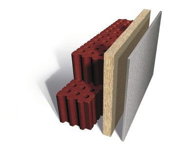 Das INTHERMO WDVS für den Mauerwerksbau wurde zur Direktmontage auf die Außenwand entwickelt. (Grafik: INTHERMO, Ober-Ramstadt)