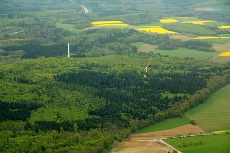 Baustelle des Windparks Ravenstein von Green City Energy