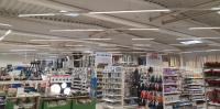Laut Hersteller Emslicht werden beim Ersatz von Leuchtstoffröhren durch LEDs in vielen Fällen Einsparungen von mindestens 50 % erreicht – bei gleichbleibender Lichtstärke, Foto: EGN-Gruppe, Andreas Kunze-Voß