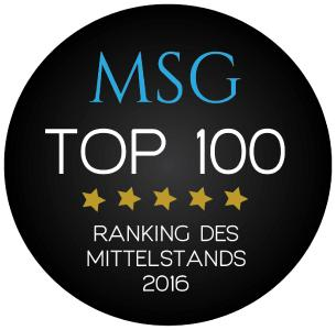 DATRON AG is committed to continuous innovation and sustainability and is once again one of the TOP 100 SMEs in Germany