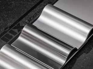 Chromeffektlackierungen auf einem Kunststoffbauteil: Die Qualität der Beschichtung entspricht funktionell und optisch dem galvanischen Verchromen. Foto: Bix Beschichtungen GmbH