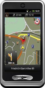 NAVIGON select Telekom Edition für Android-Smartphones