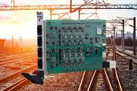 Binary I/O for Rail Applications on CompactPCI Serial