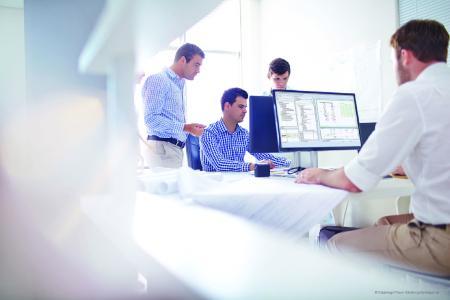 Die neuen Räumlichkeiten bieten optimale Bedingungen für heutige Ansprüche an eine ideale Lernumgebung (Quelle: Eplan Software & Service GmbH & Co. KG)