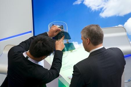 EU PVSEC Exhibition booth