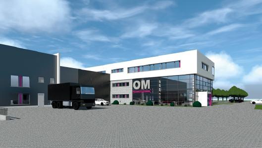OM-Klebetechnik Neubau in Neumarkt / Woffenbach