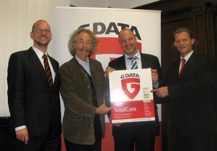 G DATA Vorstand begrüßt Jean Pütz als neues Mitglied des Aufsichtsrats.