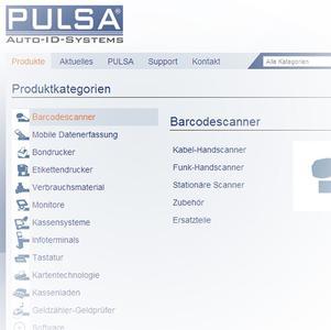 Neue Webseite www.PULSA.de