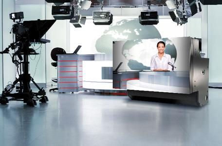 eyevis – Large screen systems for broadcasters in studios, direction rooms, central control rooms, playout centres, postproduction, and newsrooms