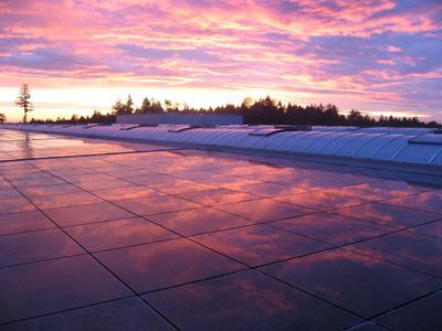 Weinmann Aach GmbH 700 kWp - größte Dachanlage in Deutschland