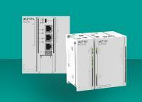 Von der Erstellung eines Web-Servers bis zur Cloud-Verbindung: Die PLC210 (links) unterstützt zahlreiche Protokolle und bietet dadurch viele Möglichkeiten. Die Ethernet-I/O-Module der MX210-Serie (rechts) bieten Hochfrequenzeingängen von bis zu 100 kHz