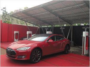 Carport-China-Tesla3