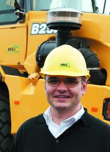 Bell-Geschäftsführer Ulrich Kramme zeigte sich sehr zufrieden mit dem Verlauf der STEINEXPO 2008